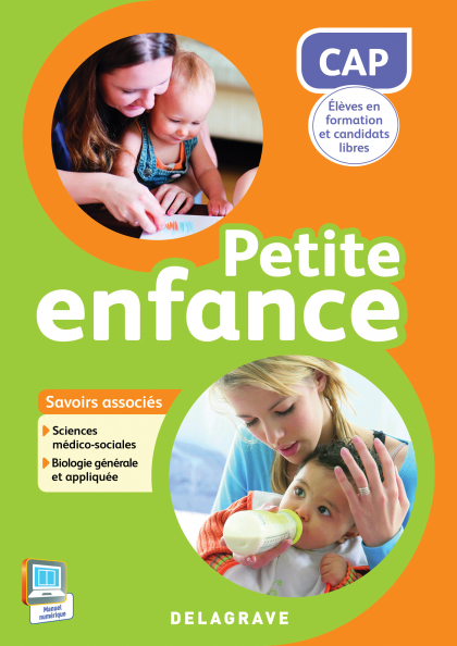 CAP Petite Enfance, savoirs associés S1, S2 (2015) - Pochette élève
