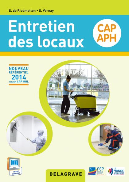 Entretien des locaux cap aph 2015 pochette l ve for Referentiel cap cuisine
