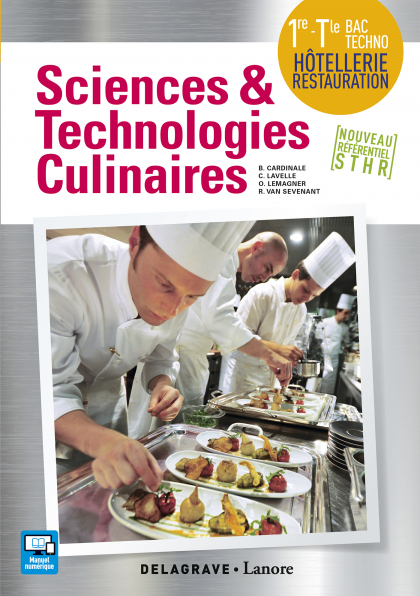 Sciences et Technologies Culinaires (STC) 1re, Tle STHR (2016) - Pochette élève