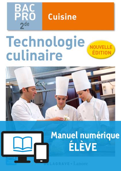 Technologie culinaire 2de bac pro cuisine ne 2016 - Salaire bac pro cuisine ...