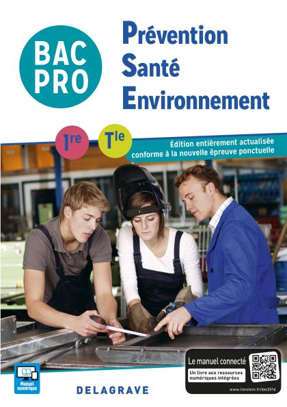 Prévention Santé Environnement (PSE) 1re, Tle Bac Pro (2016) - Pochette élève