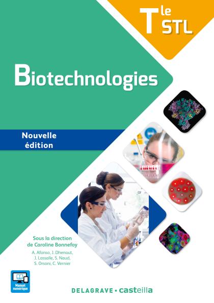 Biotechnologies Tle STL (2017) - Manuel élève