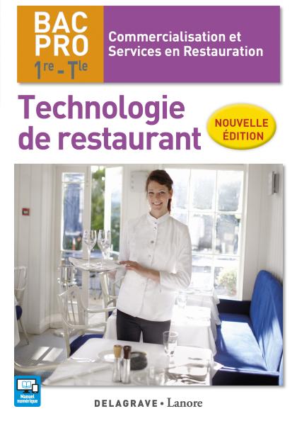Technologie de restaurant 1re, Tle Bac Pro CSR (2017) - Pochette élève