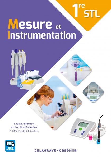 Mesure et instrumentation 1re STL (2017) - Manuel élève