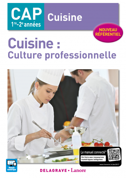 Cuisine : culture professionnelle CAP Cuisine (2017) - Pochette élève