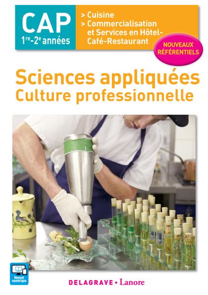 Sciences appliquées - Culture professionnelle CAP Cuisine et CSHCR (2017) - Pochette élève