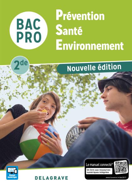 Prévention Santé Environnement (PSE) 2de Bac Pro (2017) - Pochette élève