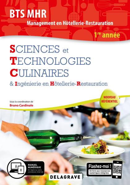 Sciences et Technologies Culinaires (STC) 1re année BTS MHR (2019) - Pochette élève