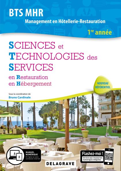 Sciences et Technologies des Services (STS), BTS MHR 1re année (2019) - Pochette élève