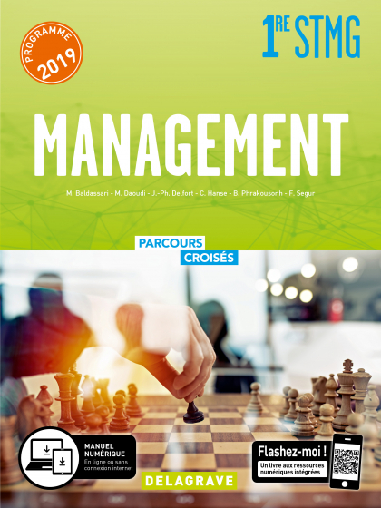 Management 1re STMG (2019) - Manuel élève