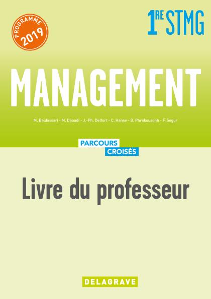 Management 1re STMG (2019) - Livre du professeur manuel