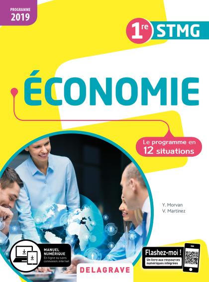 Économie 1re STMG (2019) - Pochette élève