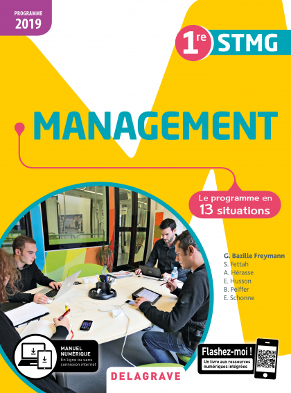Management 1re STMG (2019) - Pochette élève