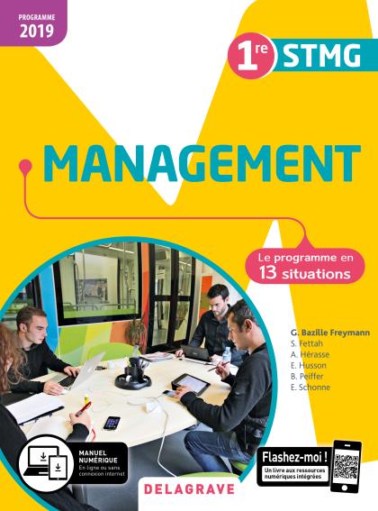 Management 1re STMG (2019) - Pochette élève