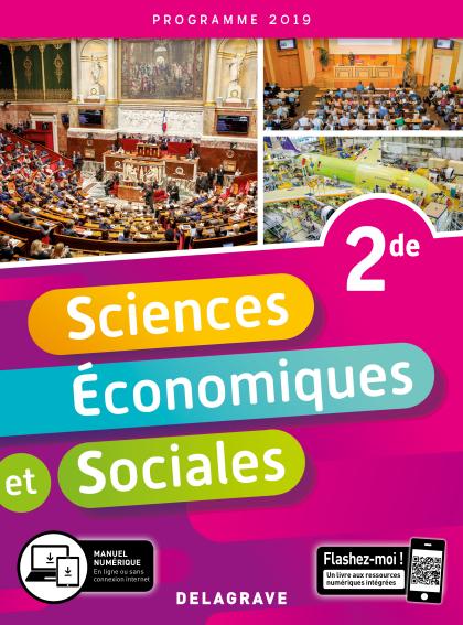 Sciences Économiques et Sociales (SES) 2de (2019) - Pochette élève