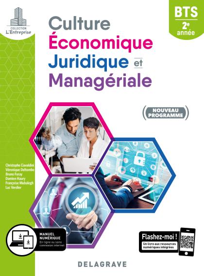 Culture économique, juridique et managériale (CEJM) 2e année BTS SAM, GPME, NDRC (2019) - Pochette élève