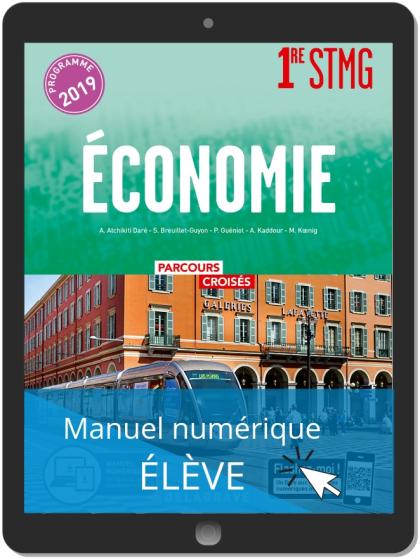 Économie 1re STMG (2019) Manuel - Manuel numérique élève