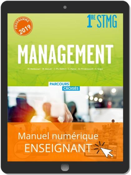 Management 1re STMG (2019) - Manuel - Manuel numérique enseignant