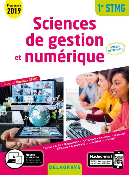 Sciences de gestion et numérique 1re STMG (2019) - Réseaux STMG - Pochette élève