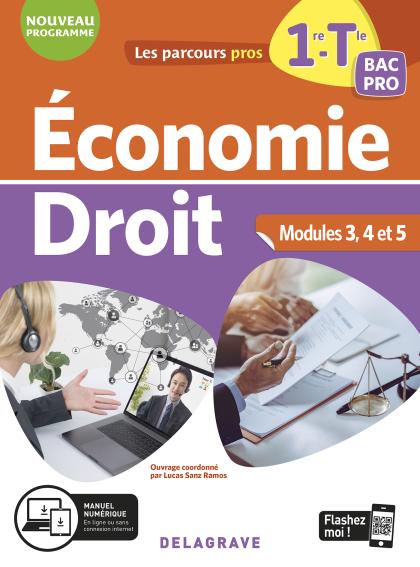 Économie-Droit 1re, Tle Bac Pro (2020) - Pochette élève