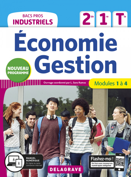 Économie-Gestion 2de, 1re, Tle Bacs Pros Industriels (2020) - Pochette élève