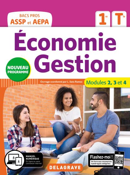 Économie-Gestion 1re, Tle Bac Pro ASSP et AEPA (2020) - Pochette élève