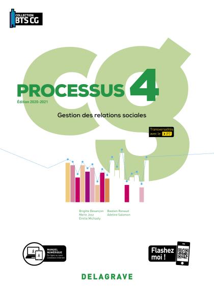 Processus 4 - Gestion des relations sociales BTS Comptabilité Gestion (CG) (2020) - Pochette élève