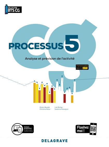 Processus 5 - Analyse et prévision de l'activité BTS Comptabilité Gestion (CG) (2020) - Pochette élève