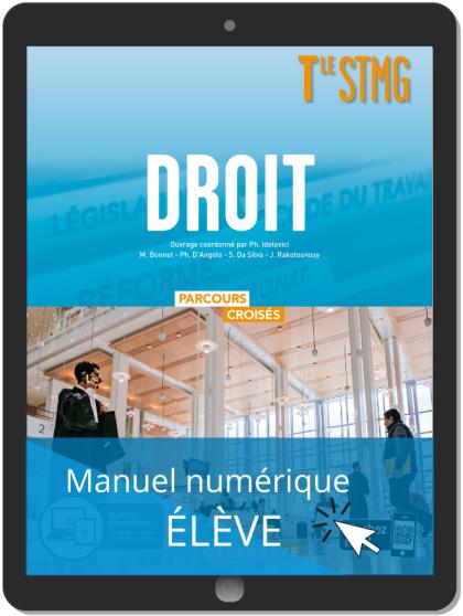 Droit Tle STMG (2020) Manuel - Manuel numérique élève