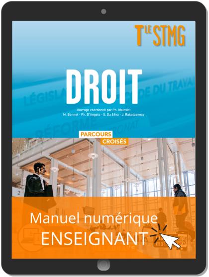 Droit Tle STMG (2020) Manuel - Manuel numérique enseignant