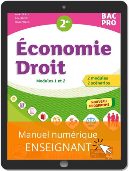 Économie-Droit 2de Bac Pro (2020) - Manuel numérique enseignant