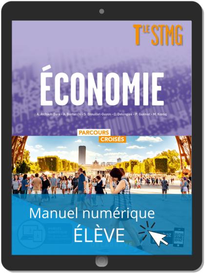 Économie Tle STMG (2020) Manuel - Manuel numérique élève