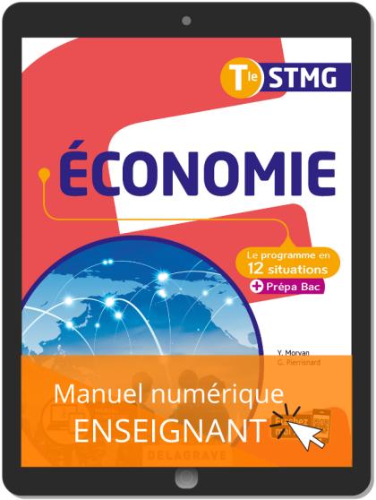 Économie Tle STMG (2020) - Pochette - Manuel numérique enseignant
