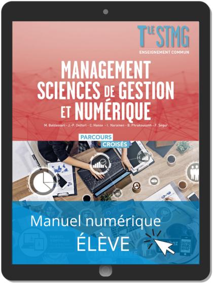 Management, Sciences de gestion et numérique Tle STMG (2020) Manuel - Manuel numérique élève