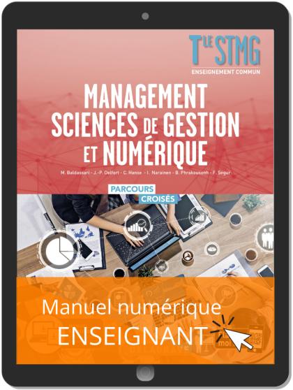 Management, Sciences de gestion et numérique Tle STMG (2020) - Manuel - Manuel numérique enseignant