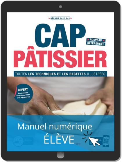 CAP Pâtissier (2020) - Manuel - Manuel numérique élève