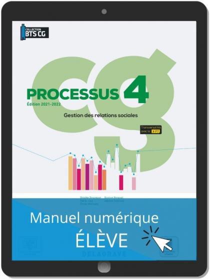 Processus 4 - Gestion des relations sociales BTS Comptabilité Gestion (CG) (2021) - Pochette - Manuel numérique élève