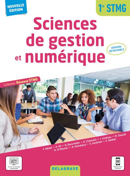Sciences de gestion et numérique 1re STMG (2021) - Pochette élève