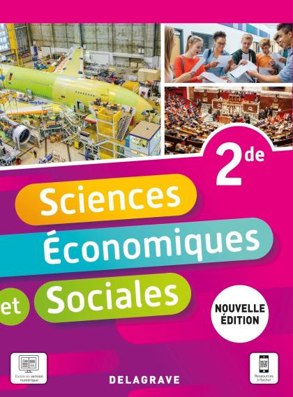 Sciences Économiques et Sociales (SES) 2de (2021) - Pochette élève