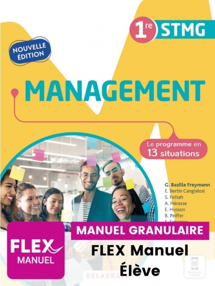 Management 1re STMG (Ed. num. 2021) - FLEX manuel numérique granulaire élève