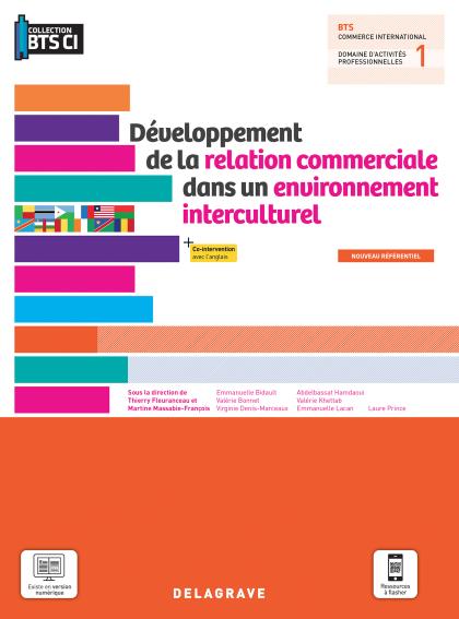 Développement de la relation commerciale dans un environnement interculturel, BTS Commerce international (2021) - Pochette élève