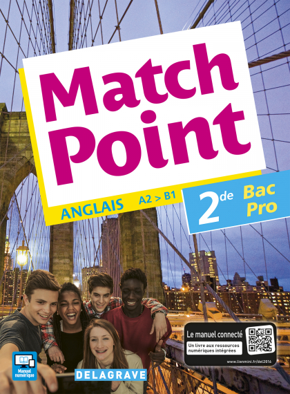 Match Point 2de Bac Pro (2016) - Pochette élève