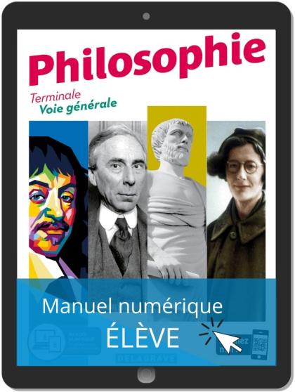 Philosophie Terminale Voie Générale (2020) - Manuel - Manuel numérique élève