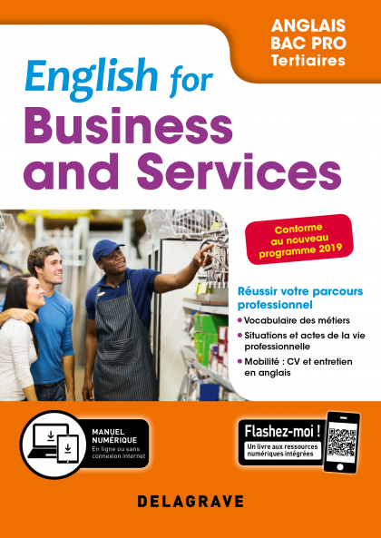 English for Business and Services - Anglais Bac Pro (2019) - Pochette élève