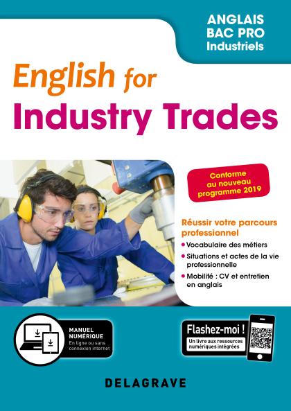 English for Industry Trades - Anglais Bac Pro (2019) - Pochette élève