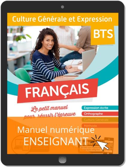 Français - Culture Générale et Expression (2019) - Manuel numérique enseignant