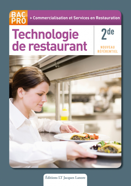 Technologie de restaurant 2de Bac Pro CSR - Pochette élève