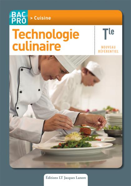 Technologie culinaire Tle Bac Pro Cuisine - Pochette élève