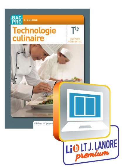 Technologie culinaire Tle Bac Pro Cuisine - Manuel numérique enseignant