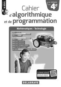 Cahier d'algorithmique et de programmation 4e (2018) - LDP